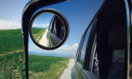 Four-Piece Blind Spot Car Mirrors Set: One Set ($9.95) or Two Sets ($14.95)