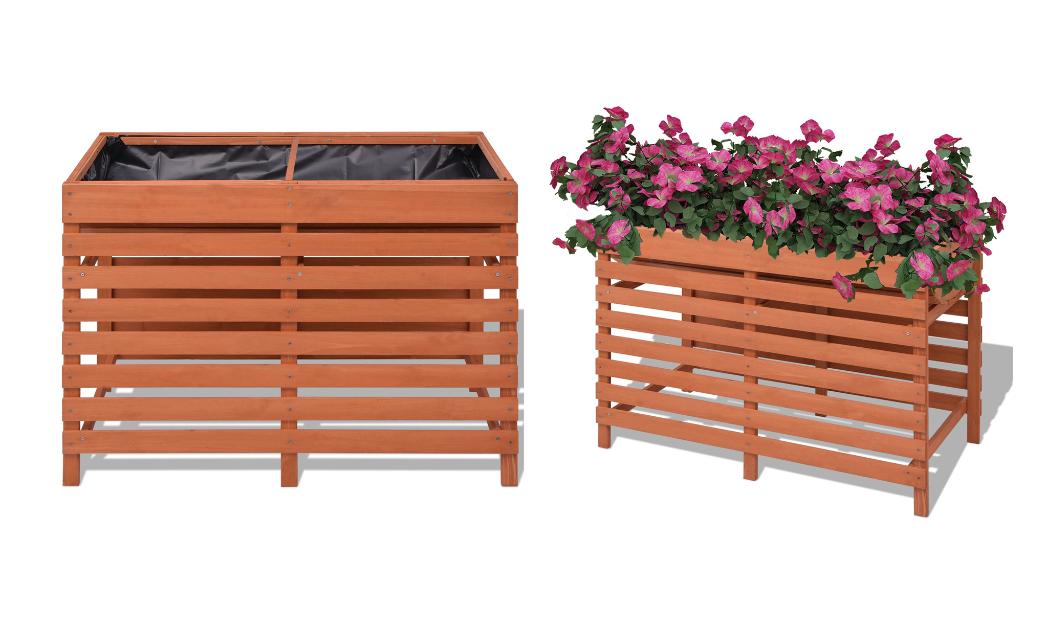 Wooden Planters in Choice of Size From £22.99