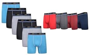 Sand Storm Men's Athletic Performance Boxer Briefs (6 Pack)