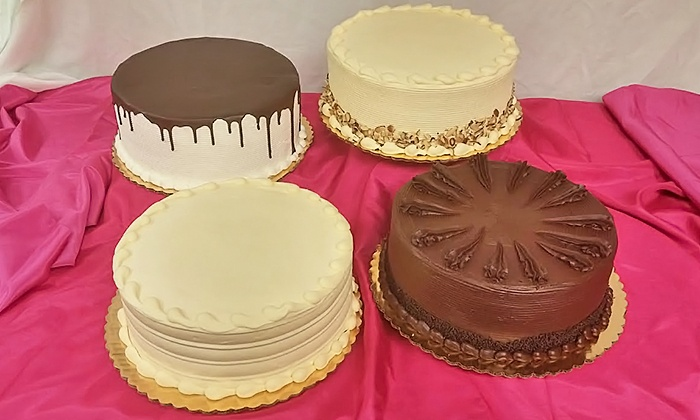 "SugarBakers Cakes - SugarBakers Cakes:  $30 for a 10"" Cake at SugarBakers Cakes ($45 Value)"