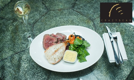Chateaubriand, Lobster and Premium Champagne at The Crazy Bear £25