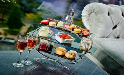 image for Champagne Afternoon Tea for Two or Four at Marco Pierre White at the Grand Harbour Hotel (42% Off)
