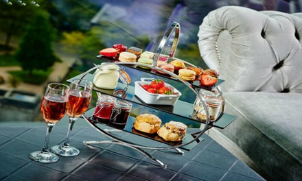 Champagne Afternoon Tea for Two or Four at Marco Pierre White at the Grand Harbour Hotel (42% Off)
