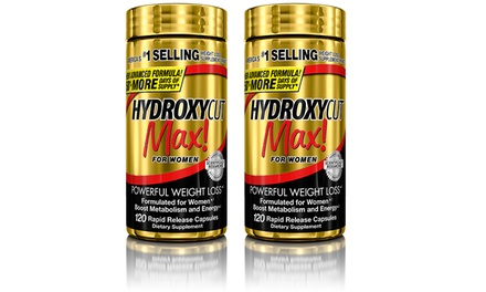 BOGO Hydroxycut Max for Women Weight-Loss Supplement (240-Count)