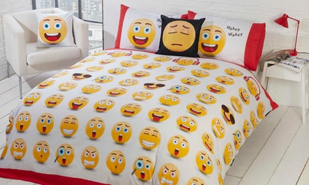 Rapport Home Fun Icons Duvet Set