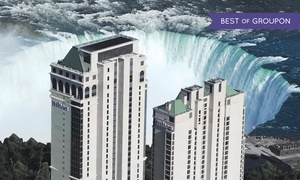4-Star Niagara Falls Hilton with Dining Package at Hilton Niagara Falls/Fallsview Hotel & Suites, plus 6.0% Cash Back from Ebates.