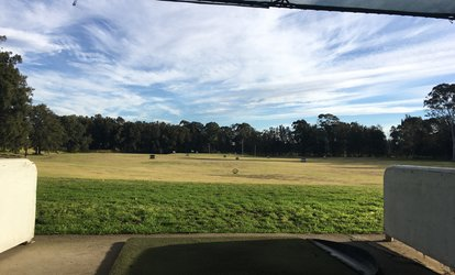 Golf Experience with 110 Balls Each for One ($8) or Four Players ($26) at Milperra Golf Driving Range (Up to $60 Value)