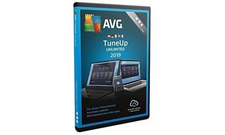 Software de optimización AVG PC TuneUp Unlimited licencia 2 años