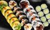 Zestaw sushi: 6 wariantów