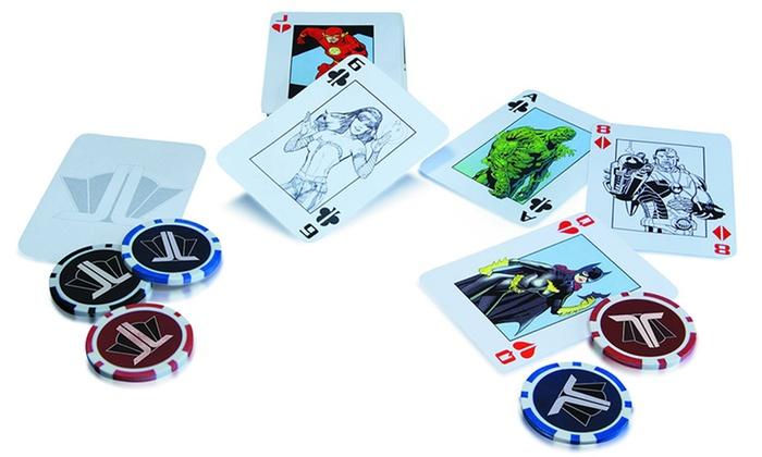 Justice league poker