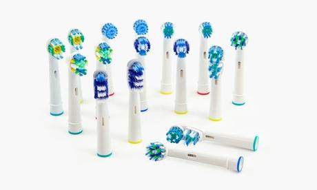 Cabezales compatibles con cepillos Oral-B 3 x 2