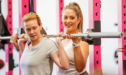 One Month of Unlimited WomenOnly Gym Classes for One $19 or Two People $35 at Venus Fitness Up to $400 Value