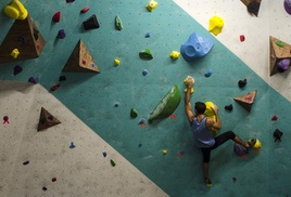 New Orleans Boulder Lounge: All Day Bouldering Pass for One, Two, or Four at New Orleans Boulder Lounge (Up to 44% Off)