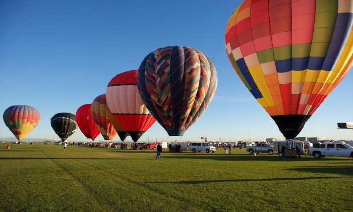 Arizona Balloon Classic 2015 - Fear Farm Sports & Entertainment Complex: One-Day Admission for Two or Four to the Arizona Balloon Classic 2015 on December 18–20 (43% Off)