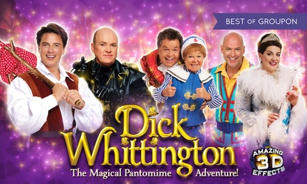 Dick Whittington, Price Band B Ticket, 6-27 January (Up to 40% Off)