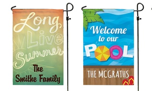 Personalized Planet: Personalized Garden Flag from Personalized Planet