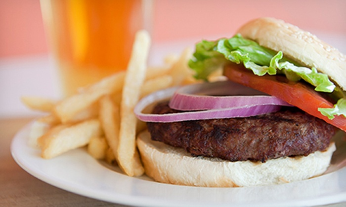Ojai Beverage Company - Ojai: $18 for a Five-Beer Sampler and a Classic Burger for Two at Ojai Beverage Company ($36 Value)