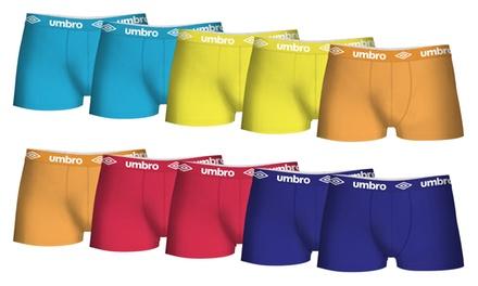 Set di 10 boxer Umbro multicolor