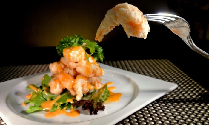 Jade Asian Bistro - New Dorp: Asian Dinner with Cocktails for Two or Four at Jade Asian Bistro (Up to 48% Off)