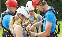 High Ropes Course Entry for Up to Four at Vertigo Adventures (40% Off)