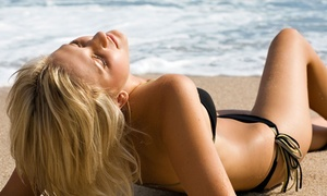 Perfect Tan: Two or Four Mystic Spray Tans with Optional Red-Light-Therapy Membership at Perfect Tan (Up to 75% Off)