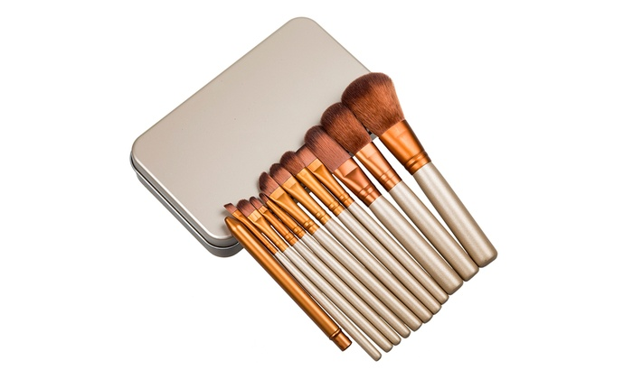 12 Pinceaux Maquillage Groupon Shopping