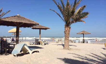 Ajman: 1 Night or 2 Night Ramadan Stay for 2 with Breakfast/Suhoor and Option for Dinner/Iftar at the Ajman Beach Hotel