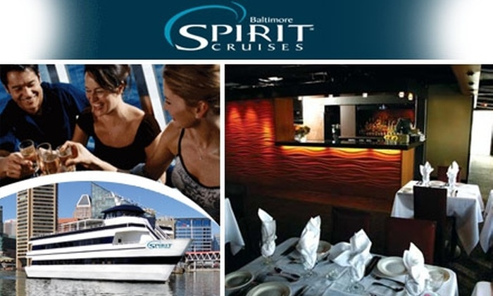 Spirit Cruises - Otterbein: $45 for a Three-Hour Inner Harbor Dinner Cruise from Spirit Cruises (Up to $90.31 Value)