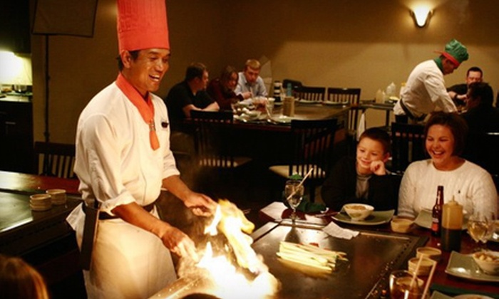 Ariake Japanese Steakhouse - Mid Rivers Mall: Asian Cuisine During Dinner or Lunch at Ariake Japanese Steakhouse in St. Peters. Two Options Available.