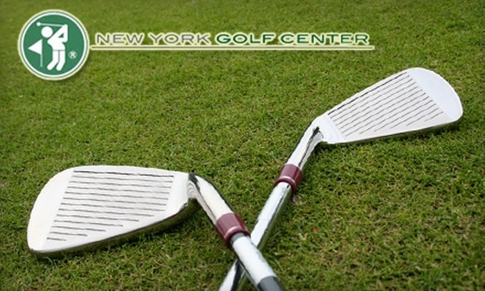 New York Golf Center - Multiple Locations: $25 for $50 Worth of Golf Equipment, Apparel, and Accessories at New York Golf Center