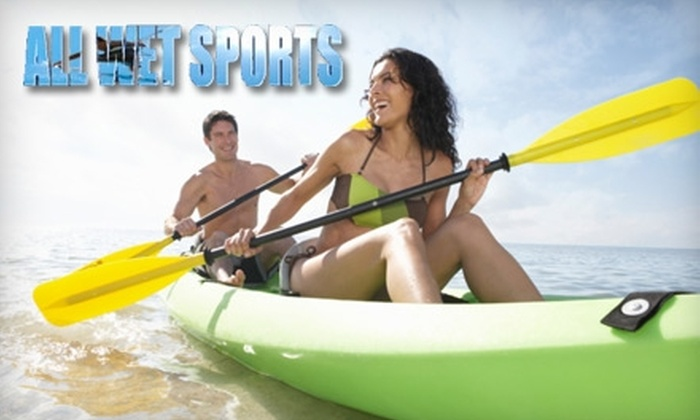 All Wet Sports - Killarney Shores: $20 for One-Day Kayak Rental from All Wet Sports on Big Pottsberg Creek ($44.86 Value)
