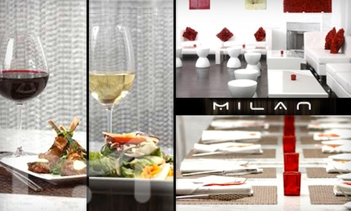 Milan - Little Italy: $15 for $30 of Contemporary Italian Cuisine and Drinks at Milan