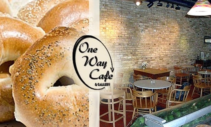 One Way Café & Gallery - Wauwatosa: $7 for $15 of Café Fare & Coffee from One Way Café & Gallery
