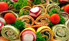 Martine Gourmet - Downtown White Plains: Sandwich Meal for Two or Four or Field Goal Catering Package from Martine Gourmet in White Plains (Up to 60% Off)