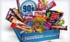 Hometown Favorites Decade Candy Boxes: $25 for a Hometown Favorites Decade-Themed Candy Gift Box ($34.95 List Price). Six Options Available. Free Shipping.