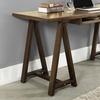 Solid Pine Sawhorse Desk