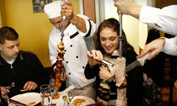 Churrascaria Rodeo - Boston: $25 for $50 Worth of Brazilian Steakhouse Fare at Churrascaria Rodeo in Woburn