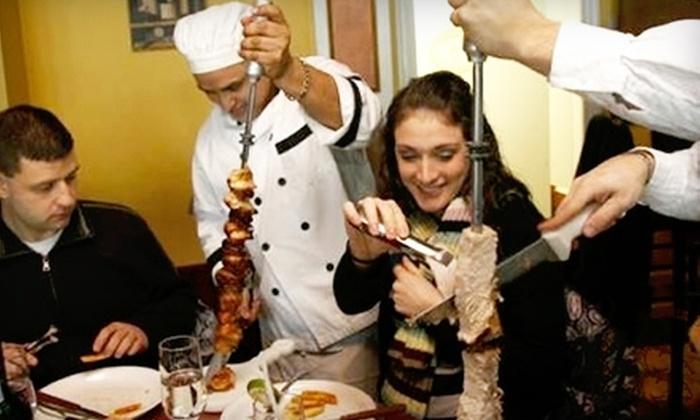 Churrascaria Rodeo - Woburn: $25 for $50 Worth of Brazilian Steakhouse Fare at Churrascaria Rodeo in Woburn