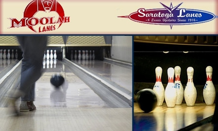 Saratoga Lanes - Maplewood: $10 for $20 Worth of Bowling, Pool, Food, and Drinks at Either Moolah or Saratoga Lanes