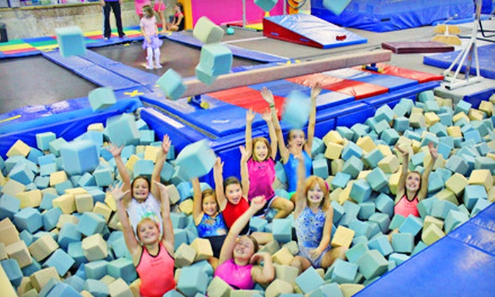 Dynamics Gymnastics - Multiple Locations: $30 for a Gymnastics Start-Up Package with Four Classes and the Registration Fee at Dynamic Gymnastics ($75 Value)