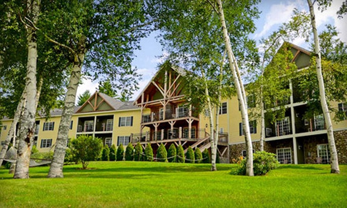 Mountain Edge Resort & Spa - Newbury, NH: $369 for Two-Night Suite Stay for Two plus $100 Credit at the Mountain Edge Resort & Spa in Mount Sunapee