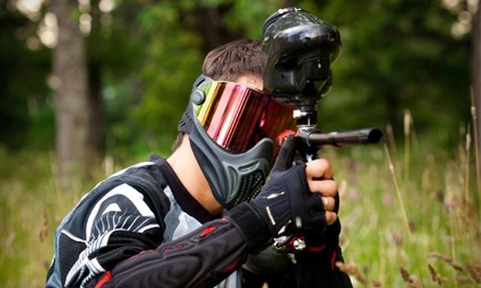 Real Deal Paintball Corporation - Kemptville: $22 for Half-Day Play, Gear, and 500 Paintballs at Real Deal Paintball Corporation ($45 Value)