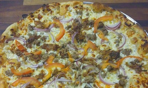 Pizza to Go Go: Large Signature Pizzas at Pizza to Go Go (Up to 50% Off). Two Options Available.