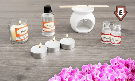 One, Two or Four Oil Burner Gift Sets