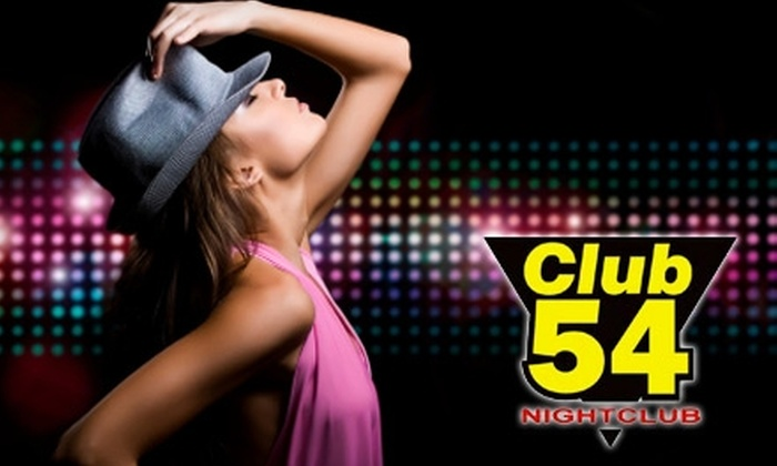 Club 54 - Burlington: $10 for Two Tickets to the Friday Night Comedy Show and Dance Party at Club 54 (Up to $30 Value)