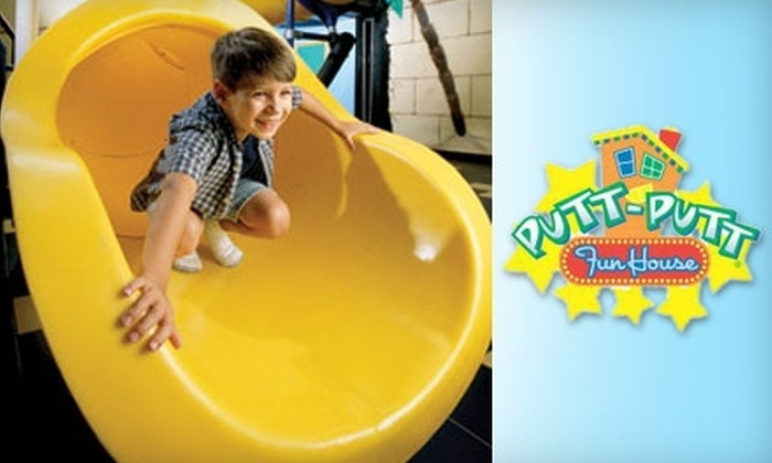 Putt-Putt Fun House - Webster: $20 for One All-Day Fun Pass, Arcade Game Card & More at Putt-Putt Fun House in Webster ($42.50 Value)
