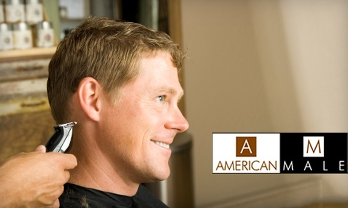 American Male - Multiple Locations: $19 for a Haircut at American Male (Up to $54 Value)