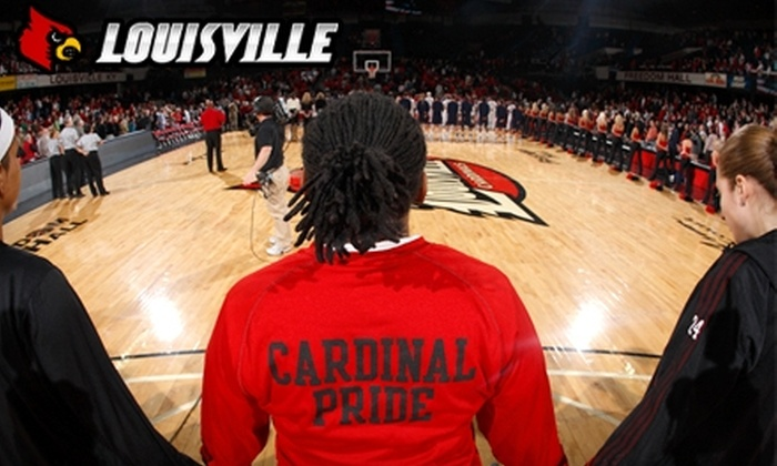 University of Louisville - Louisville: $14 for Four Tickets to University of Louisville Women's Basketball Game
