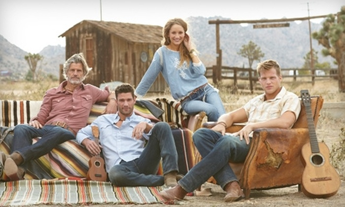 Lucky Brand - Multiple Locations: $25 for $50 Worth of Apparel and Accessories from Lucky Brand