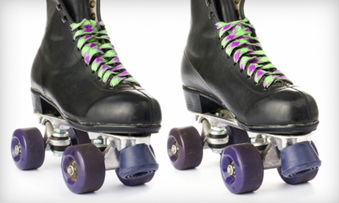 United Skates of America - Columbus: Roller-Skating Party for Up to Eight, or Open-Skate Session for Two or Four at United Skates of America (Up to 62% Off)